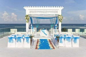 Sky terrace wedding