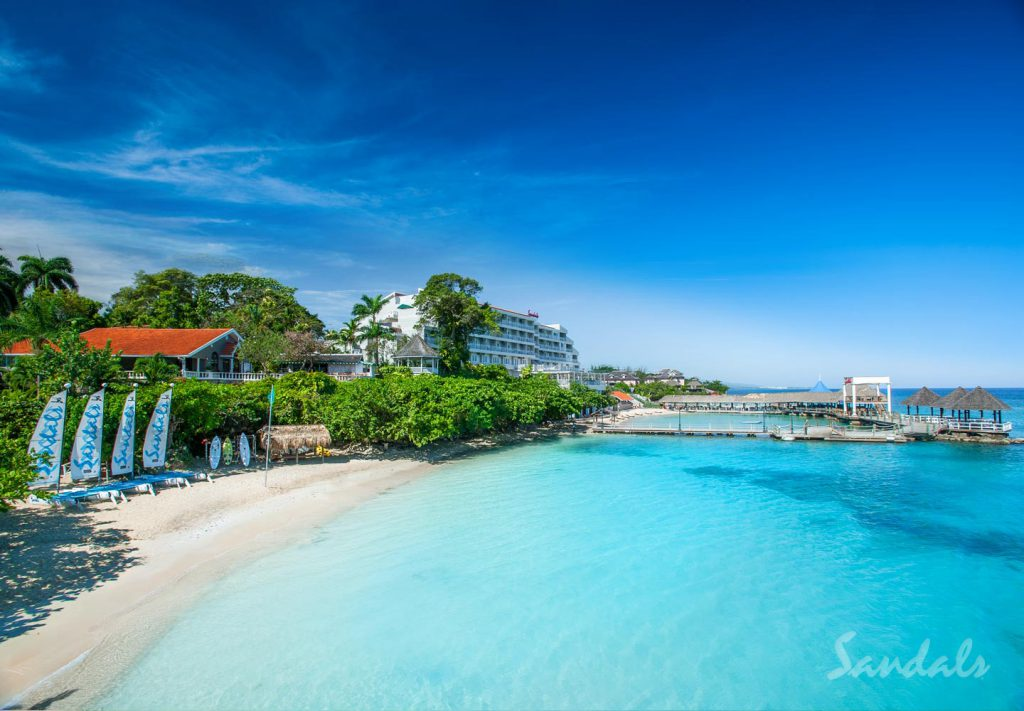 Sandals Ochi Beach St. John's Travel Agent