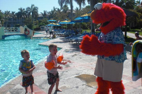 Elmo at Beaches Resort